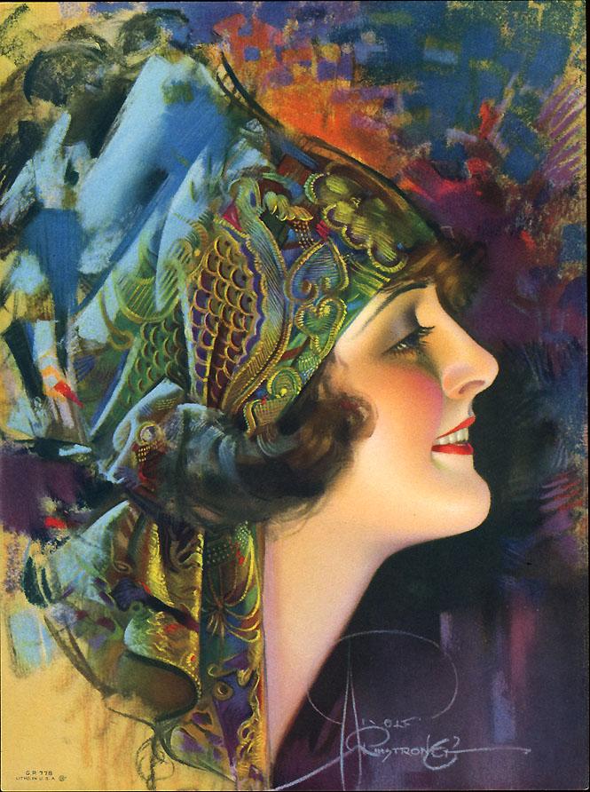 Art Painting Restoration Woman